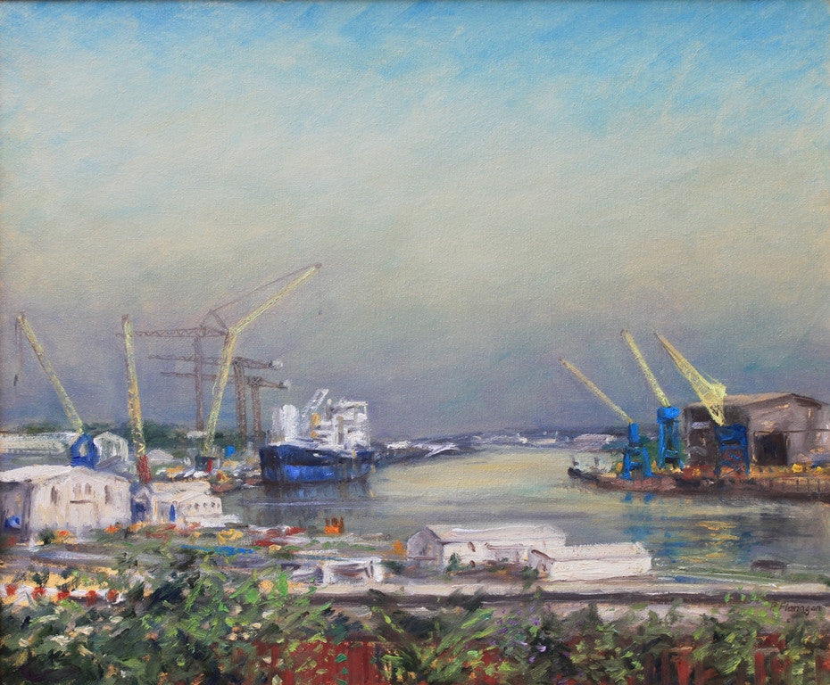 The Last Shipyards, River Tyne, 3. (at The Tallentyre Gallery, Morpeth)