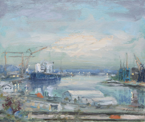 The Last Shipyards, Early Evening,