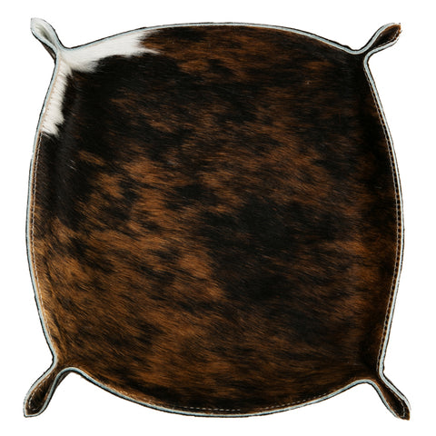 "Orange Cowhide ""Vide Poche"""
