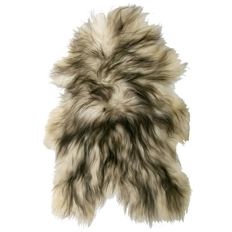 Black Tipped Icelandic Sheepskin