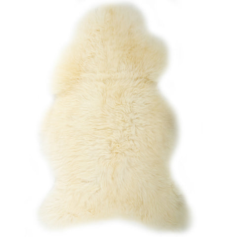 Swedish Ivory  Short Haired Sheepskin  Rug
