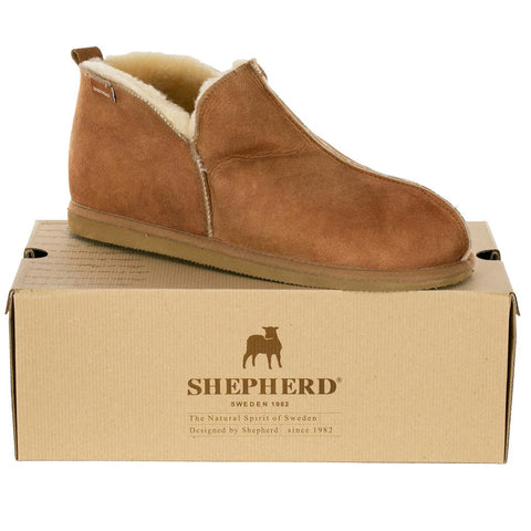 Mens Sheepskin Slippers By Shepherd Of Sweden - Anton