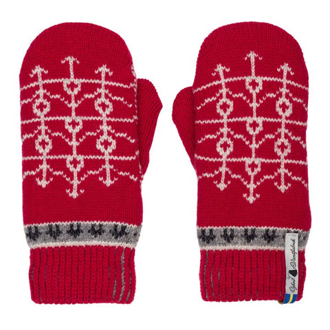 Swedish Wool Mittens -Eksharad