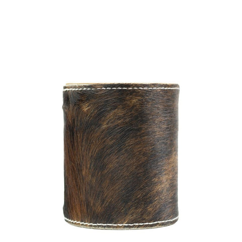 Tricolour   Cowhide Pen Holder