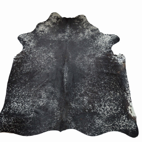 Black and white Speckled Cow hide