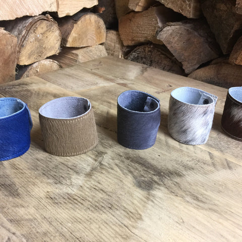 Hide Napkin Rings