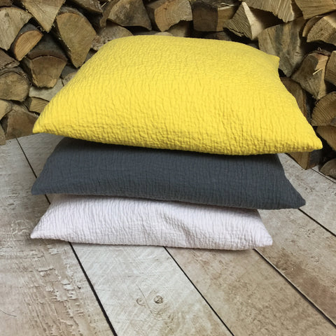 Washed Cotton Cushions