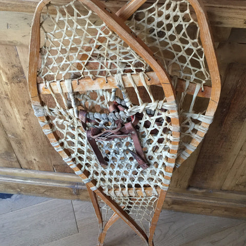 Vintage  Canadian Snow Shoes