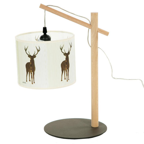 Lamp With Stag Shade