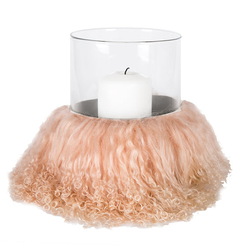 Angel Des Montagnes Hurricane Light with  Tibetan sheepskin Trim