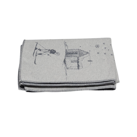 Sylvie Thiriez-Wild Polar Fleece Throw