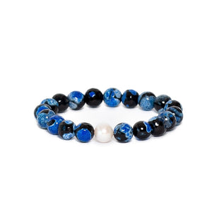 Blue Black Agate