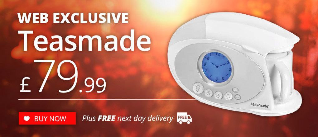 Web Exclusive Teasmade Offer