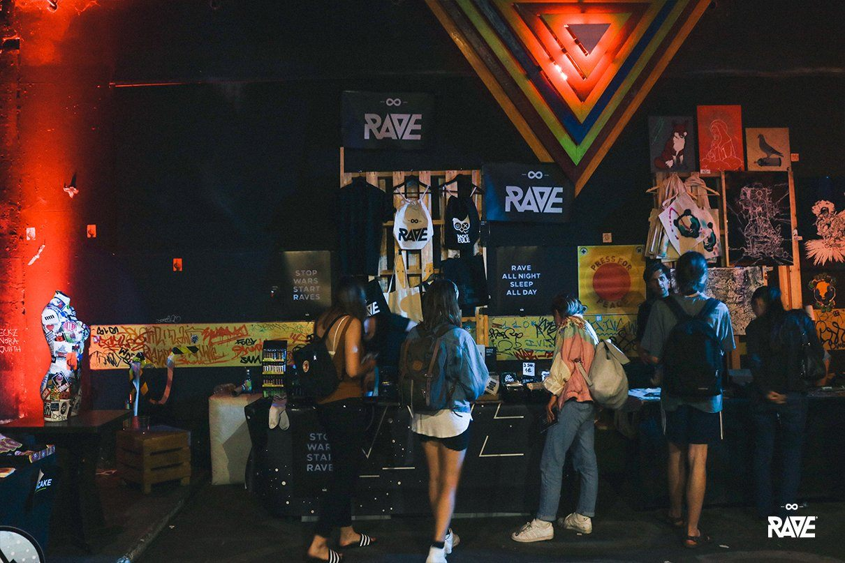 RAVE Clothing at the Berlin Stickermesse 2017