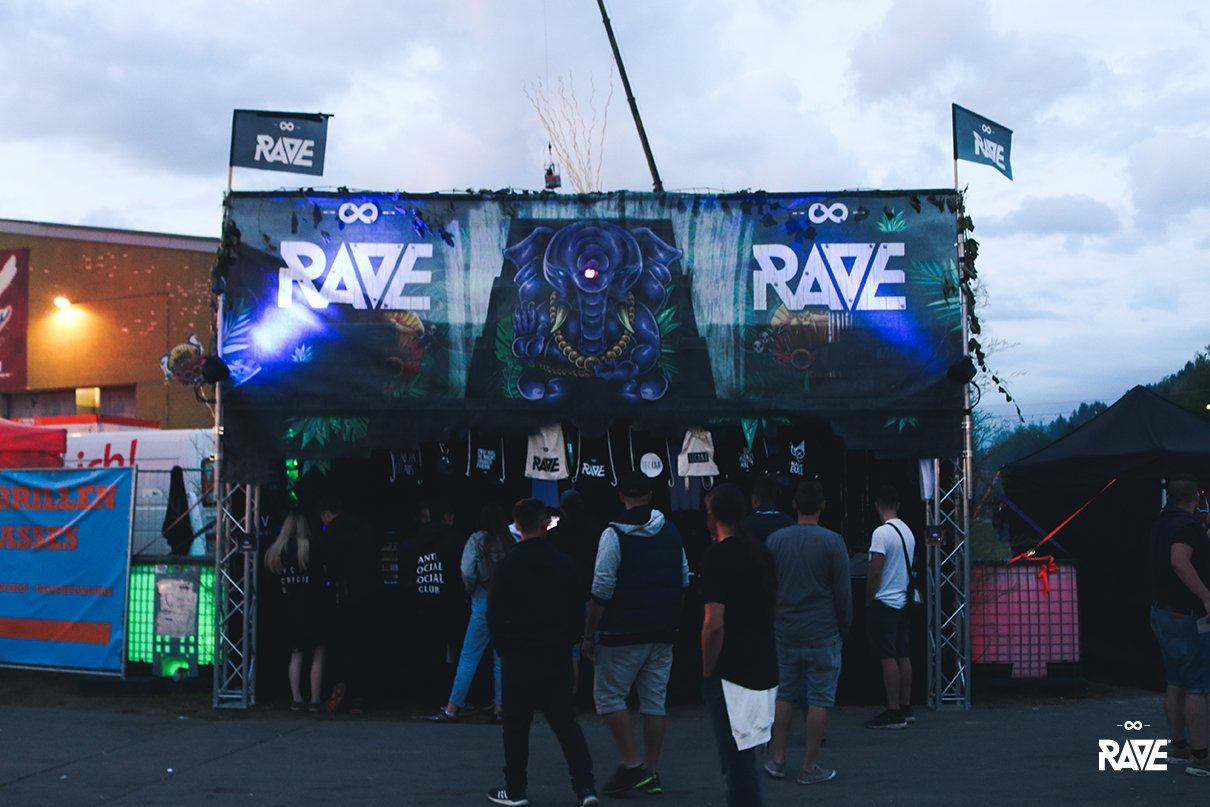 RAVE Clothing Festival Store at Nature One 2017