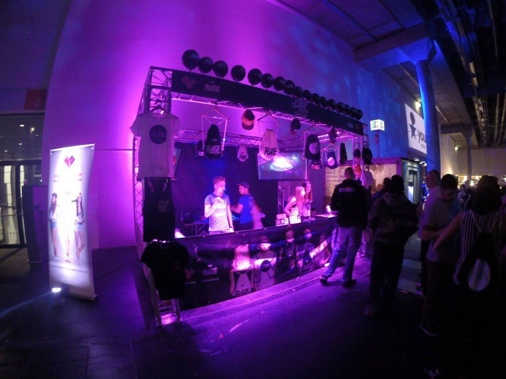 Festival Store at Winterworld 2015 in Frankfurt