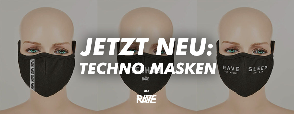 Techno masks & mouth guards for ravers