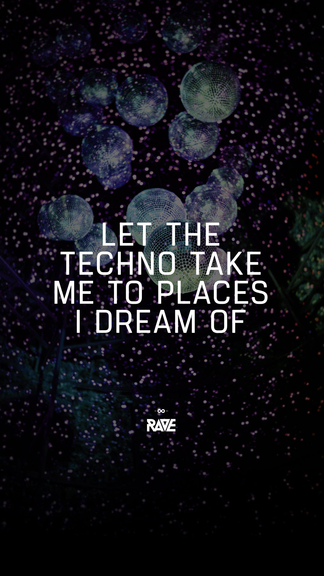 Let the Techno take me to places I dream of Wallpaper