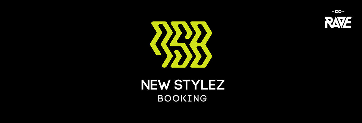 New Stylez Booking Merchandise from RAVE Clothing
