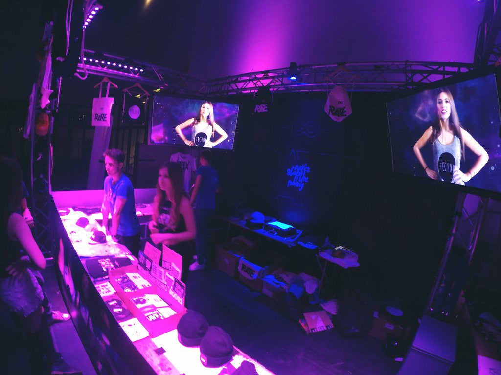 RAVE Clothing Winterworld Festival Store