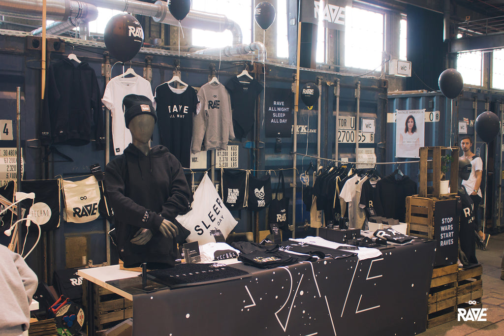 RAVE Clothing Stijl Messe Mainz