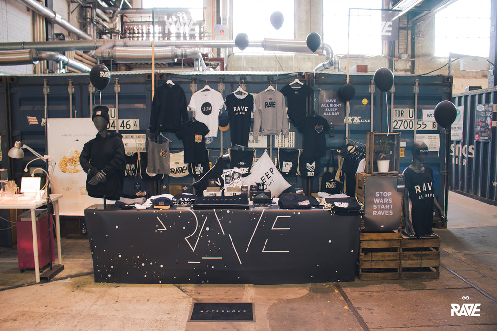 RAVE Clothing Stijl Messe Mainz 2017