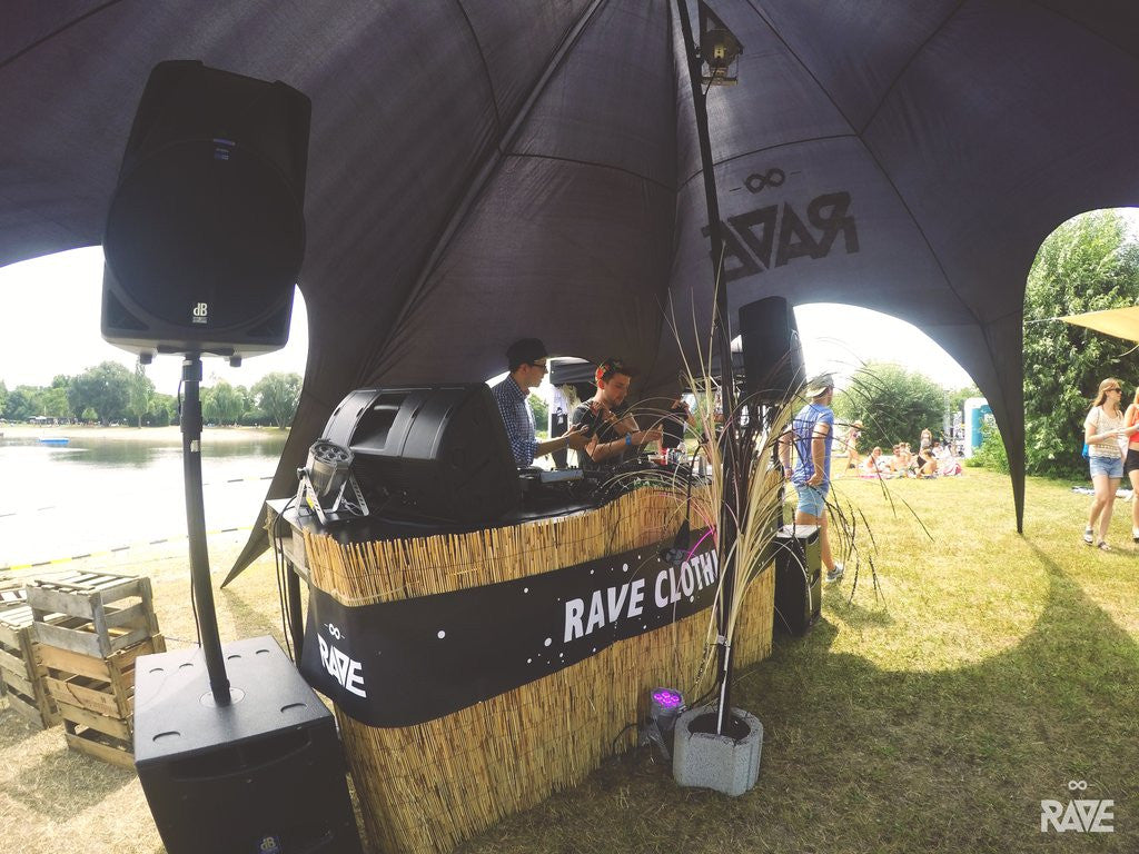 RAVE Clothing Dance the Basses Festival Store