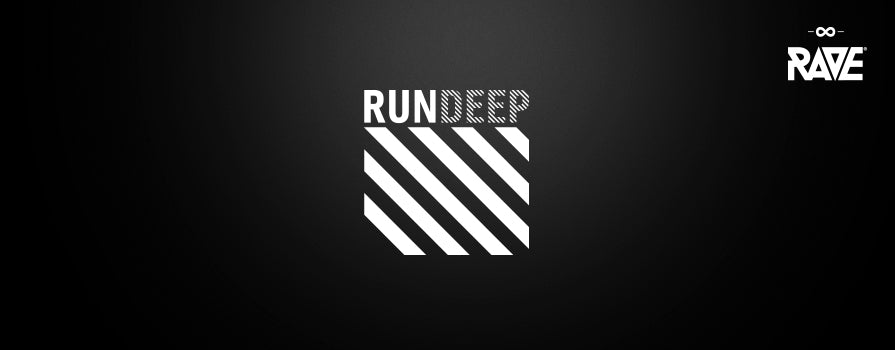 RUN DEEP Records Merchandise von RAVE Clothing