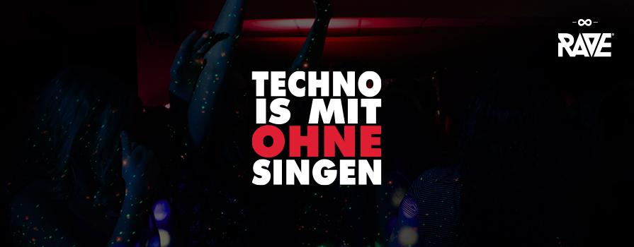 Techno is with no singing shop
