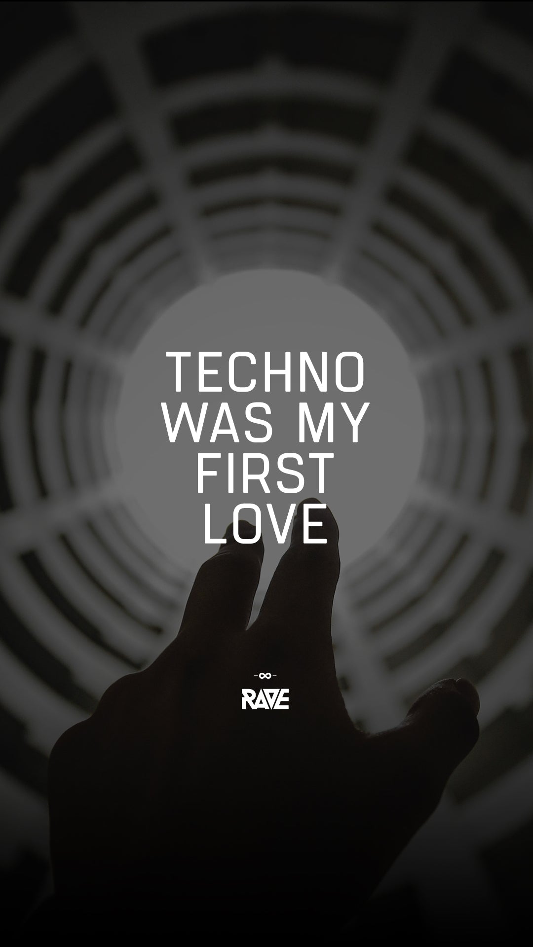 Techno was my first Love Wallpaper