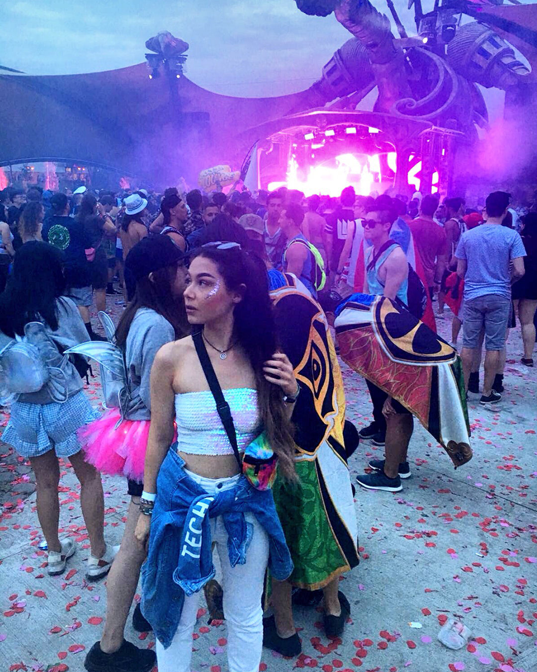 Tomorrowland Rave Outfit Techno Look
