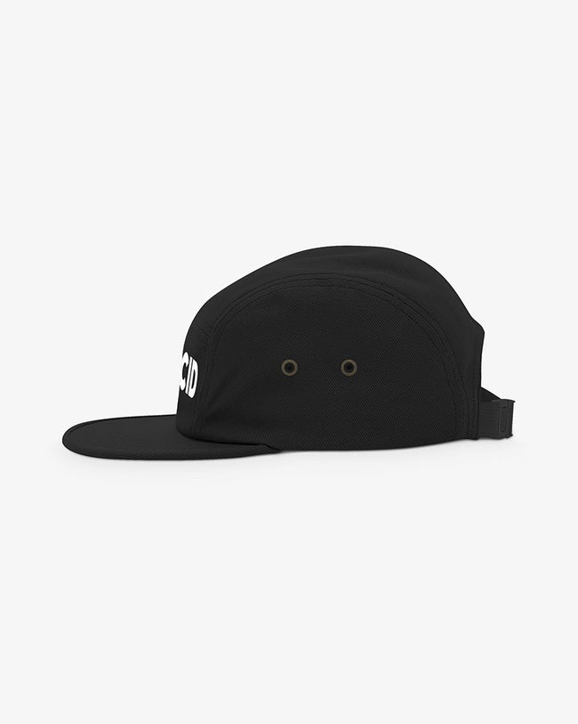 Acid 5-Panel Cap schwarz