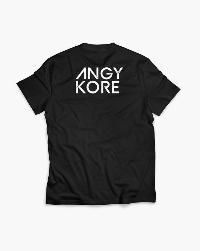 AnGy KoRe Crew T-Shirt in black