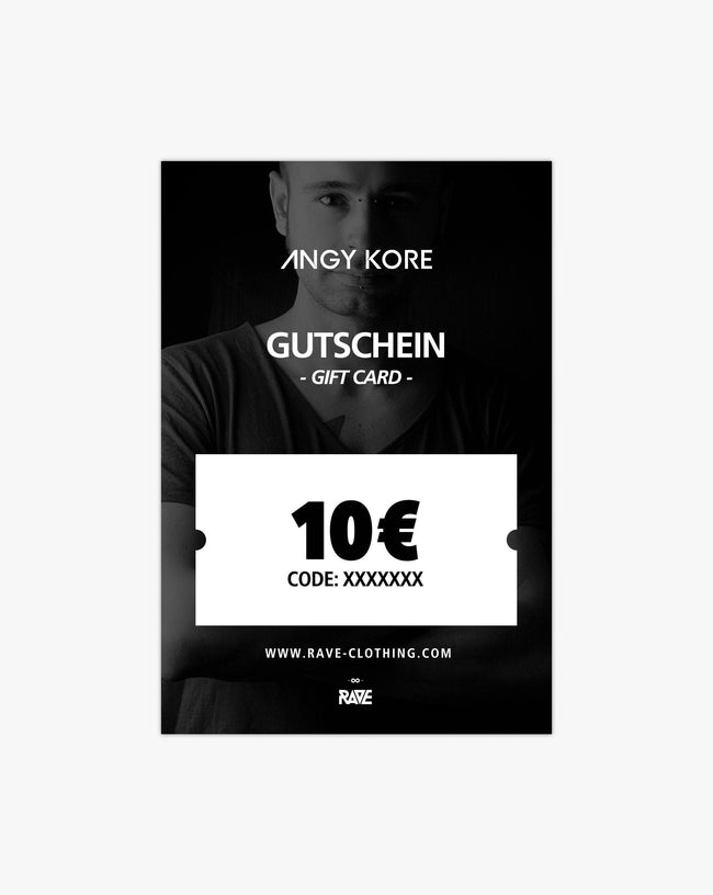 AnGy KoRe 10 € voucher from RAVE Clothing