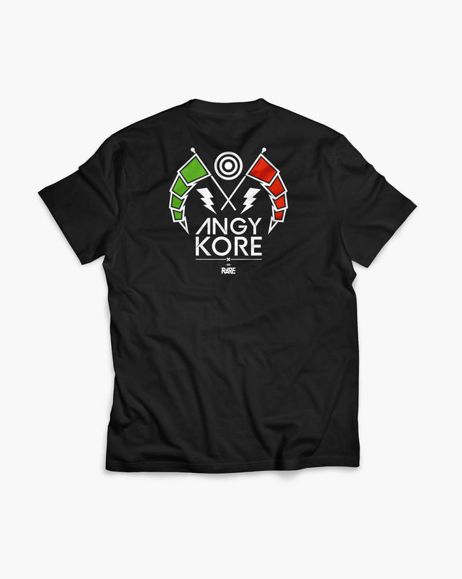 AnGy KoRe x RAVE Clothing T-Shirt von RAVE Clothing