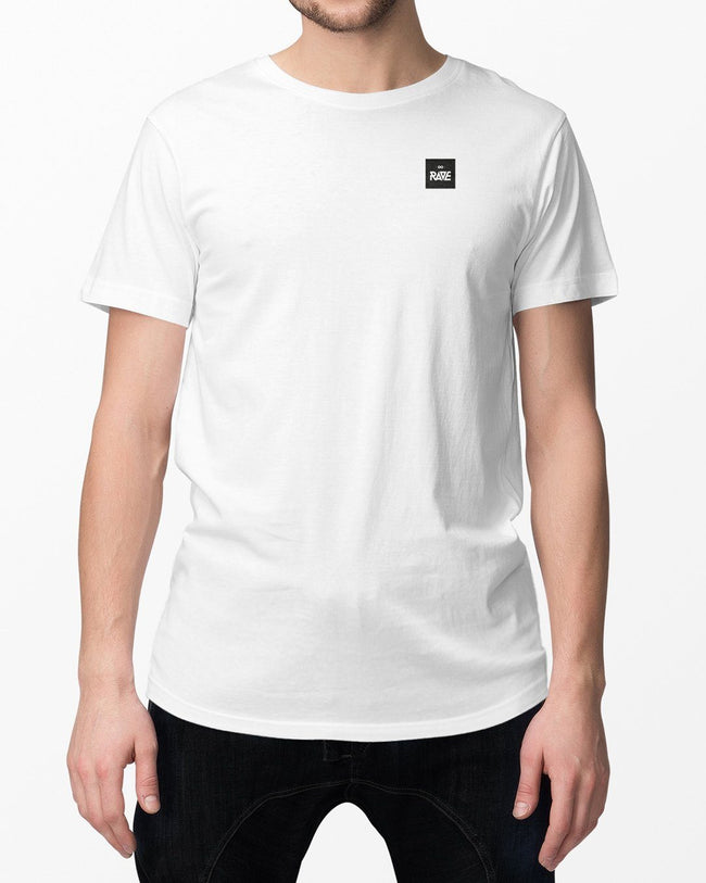 RAVE Basic T-Shirt in weiß