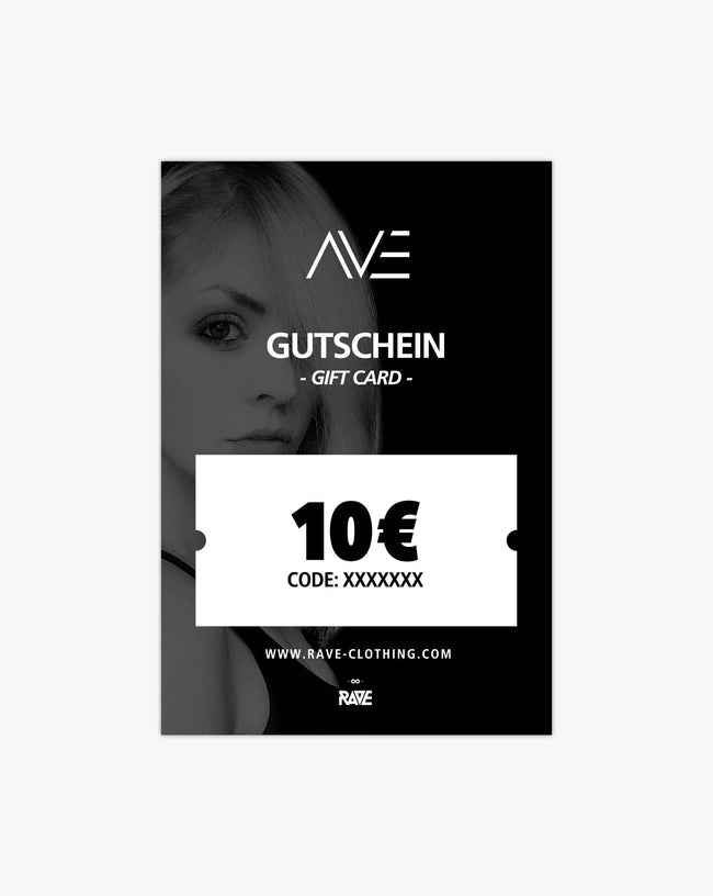 DJane AVE 10 € voucher from RAVE Clothing