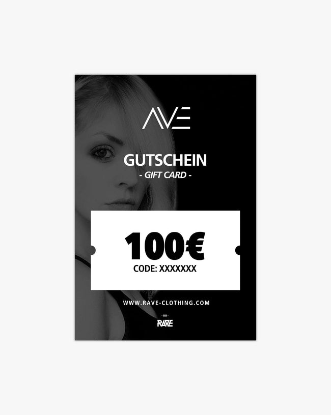 DJane AVE 100 € voucher from RAVE Clothing