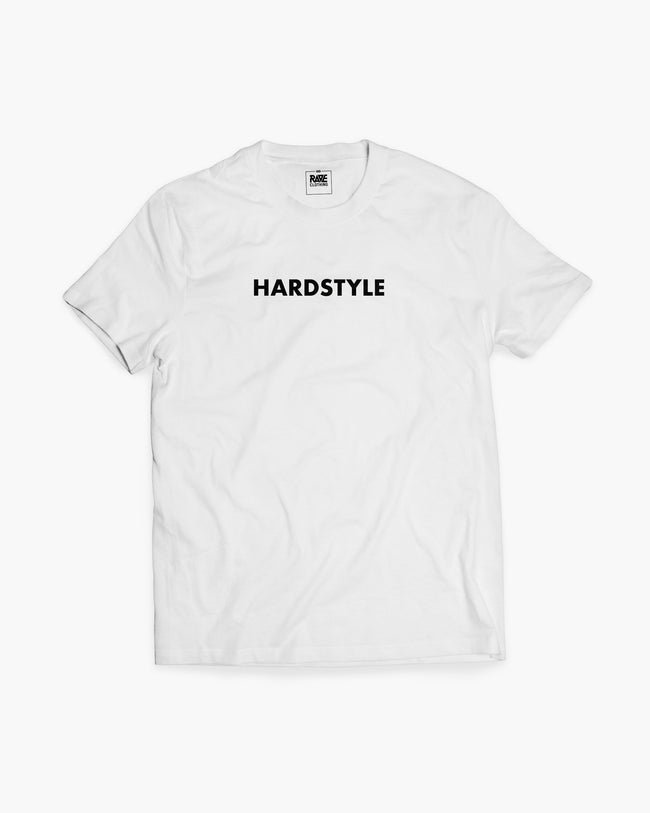 Hardstyle t-shirt in white for men by RAVE Clothing