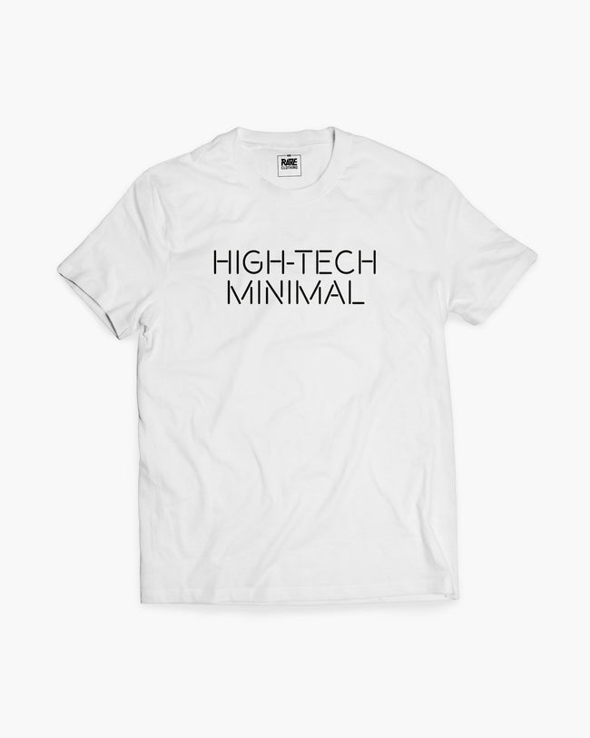 High-Tech Minimal T-Shirt in white for men by RAVE Clothing