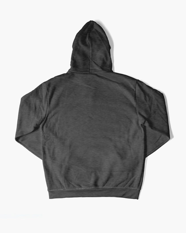 Dark gray RAVE hoodie for men
