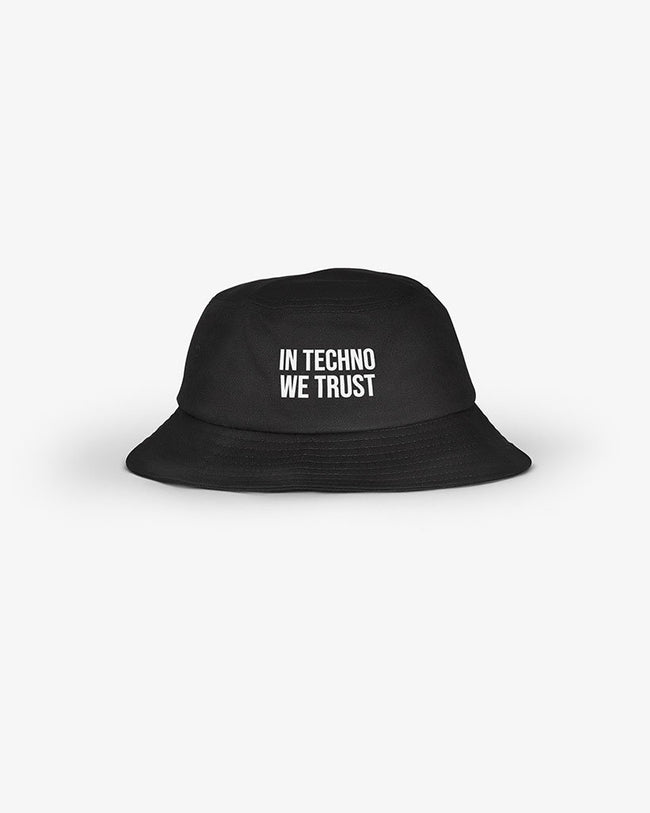 In Techno We Trust Bucket Hat