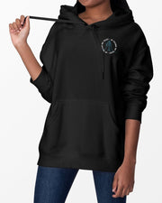 In Techno We Trust Hoodie in schwarz für Frauen von RAVE Clothing