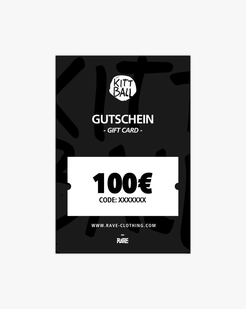 Kittball Records 100€ Gutschein von RAVE Clothing