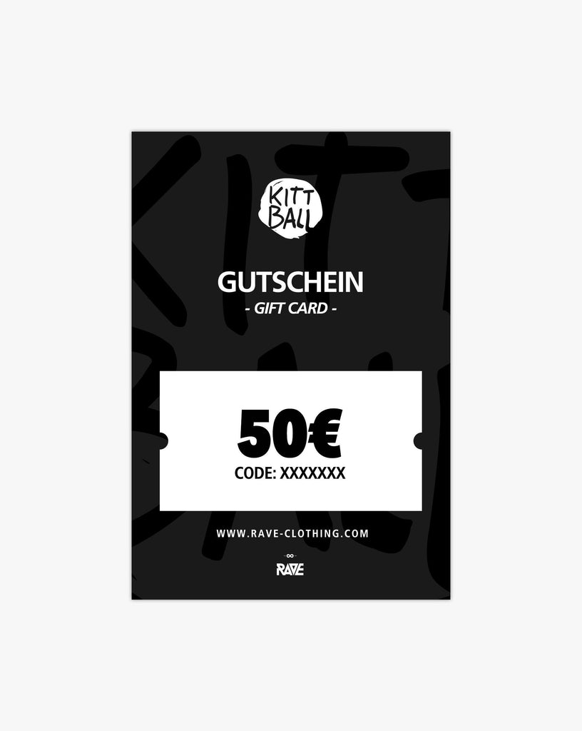 Kittball Records 50€ Gutschein von RAVE Clothing