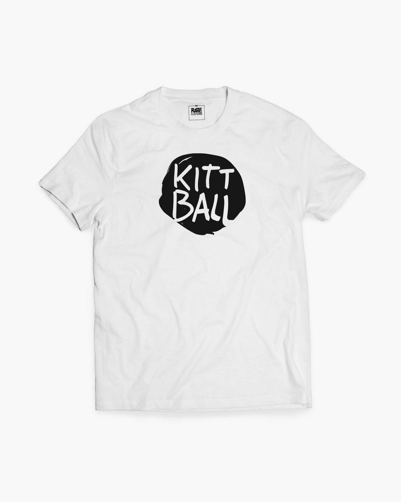 Kittball Records T-Shirt von RAVE Clothing