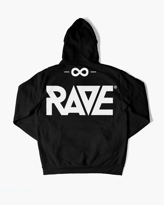 RAVE Gang hoodie in black for men by RAVE Clothing