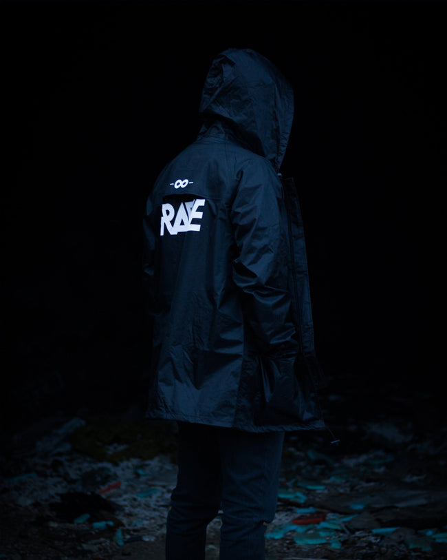 Men's rave rain jacket