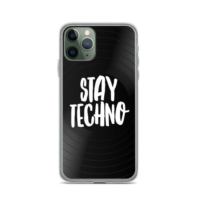 Stay Techno iPhone case