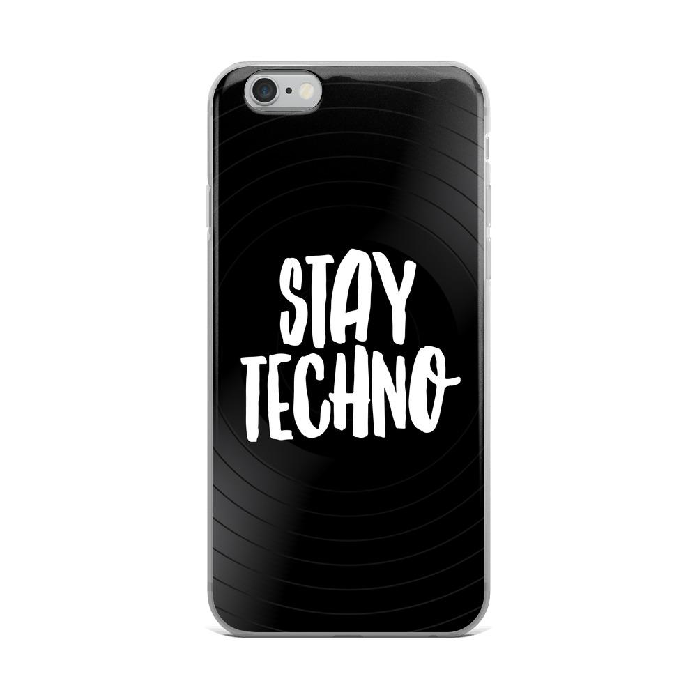 Stay Techno iPhone Handyhülle